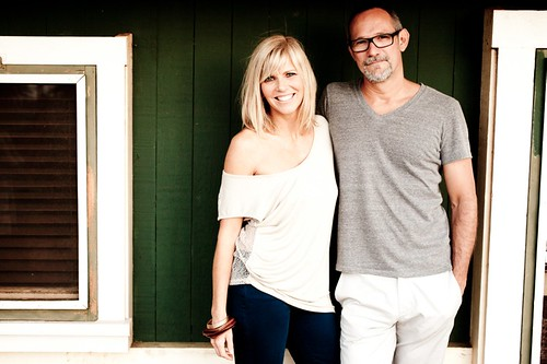 Jody Curtin and Joe Wilmot, owners of Mahina Boutique. Photo by Lauren Ross.