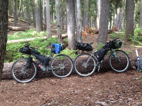 Bikepacking around Mt Hood, August 2013