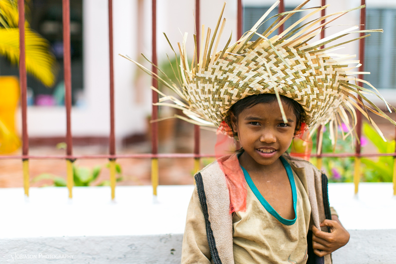 Luang Prabang child