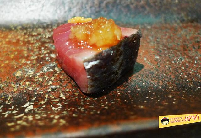 Sushi Sho - Tokyo - Bonito with onions