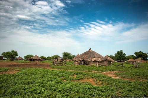africa village chad