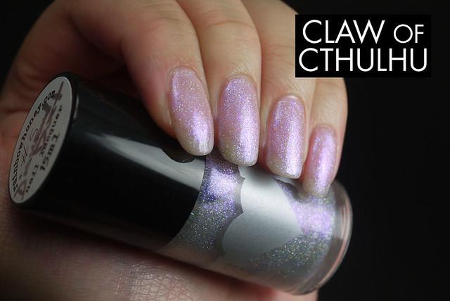 Rainbow Honey Diamond Dust (over OPI In The Spot-Light Pink)