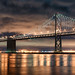 Night over the San Francisco Bay Bridge by Craig Hudson Photography