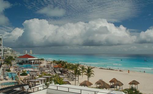 Rain in the Caribbean