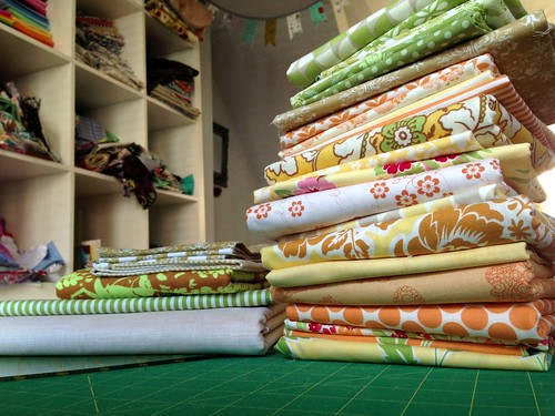 Cutting out for new quilts!