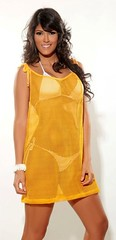 day dress, neck, clothing, yellow, fashion, photo shoot, dress,