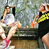 #Treetop #Kickinit In Those @wheresmylighterla_com and @BankBluntsAndReUps #TShirts #Peep #Red #Chucks #Orange #Bottles #Girls #WestCoast