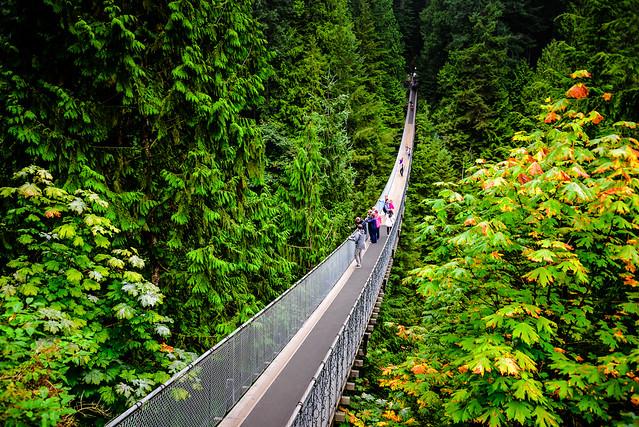 Capilano Suspension Bridge - Vancouver BC Canada