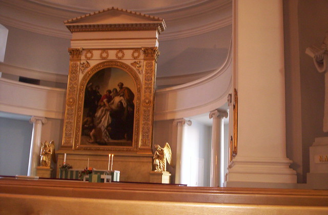 Altar of the Helsinki Cathedral