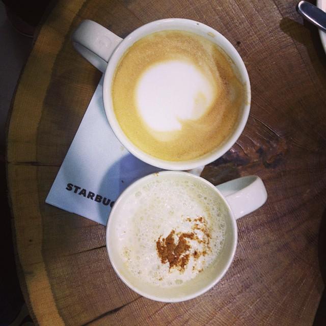 latte + #pumpkinspicelatte #starbucks