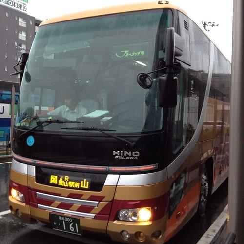 岡山行き高速バス by haruhiko_iyota