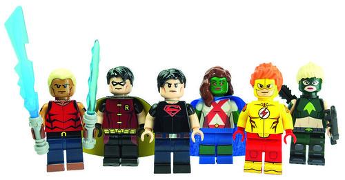 Justice Kids by LaPetiteBrique.com