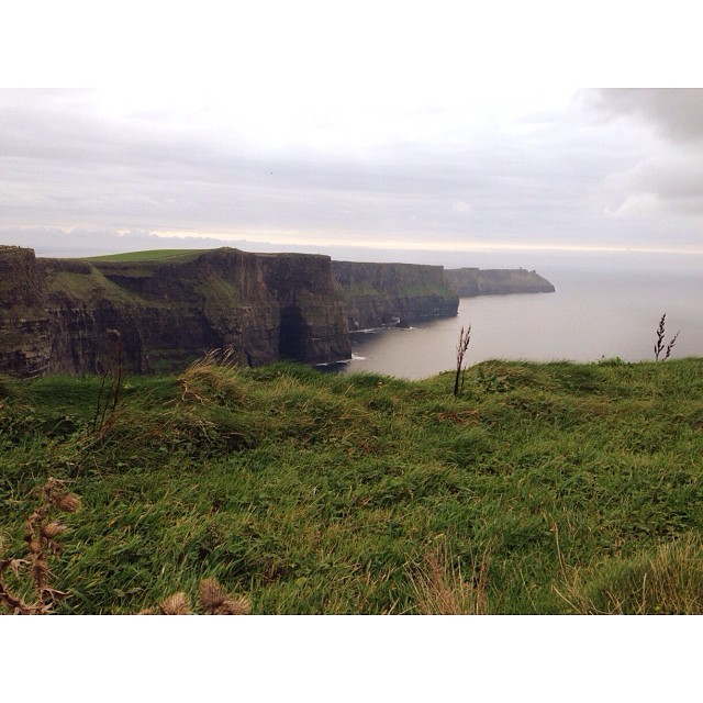 Today the Cliffs of Moher.