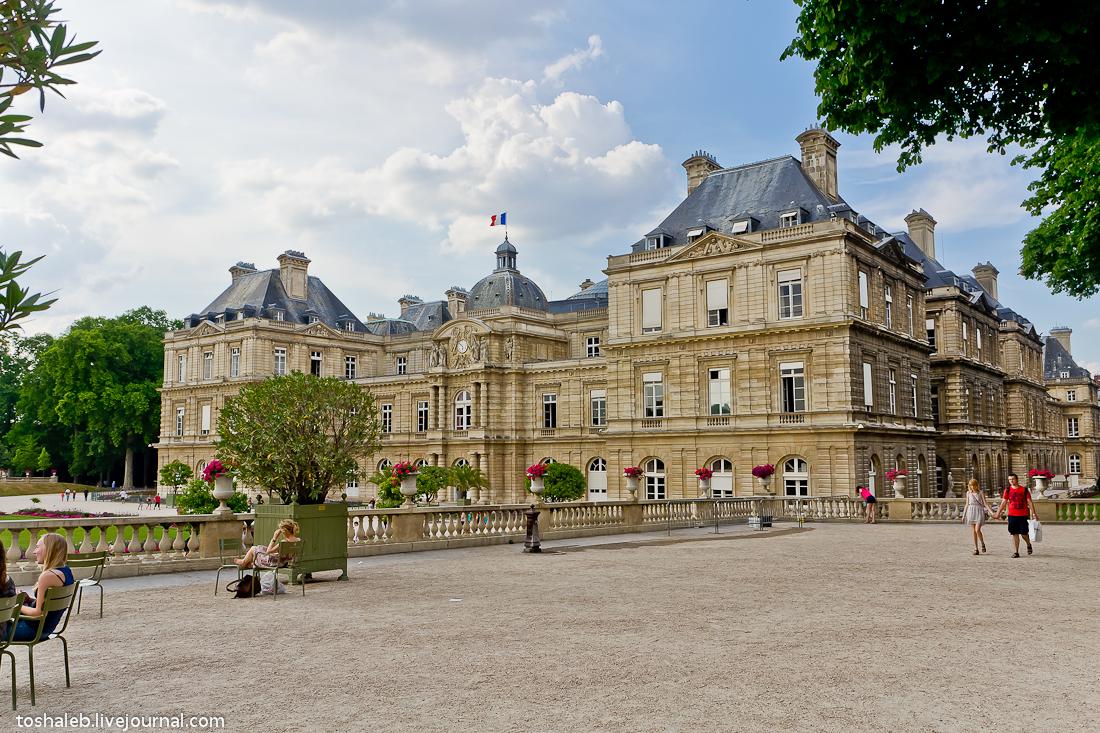 Люксембургские сады-16