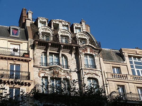 façade ceramic hôtel