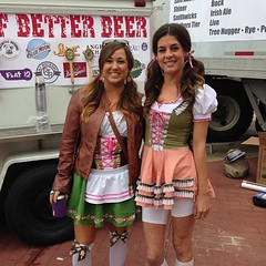 Kayla & Alex #oktoberfest