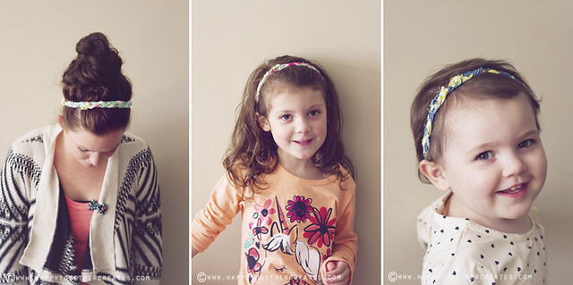 no sew braided headbands diy
