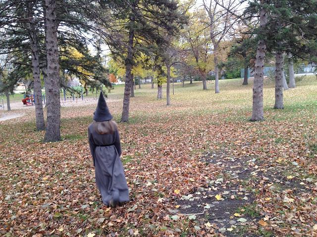 gandalf on a stroll
