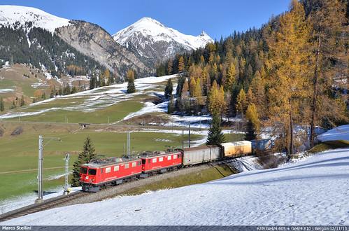 alps merci swiss cargo ge albula bahn 44 ferrovia rhb bergun rhatische retica
