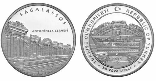 Turkey coin ANCIENT CITY OF SAGALASSOS