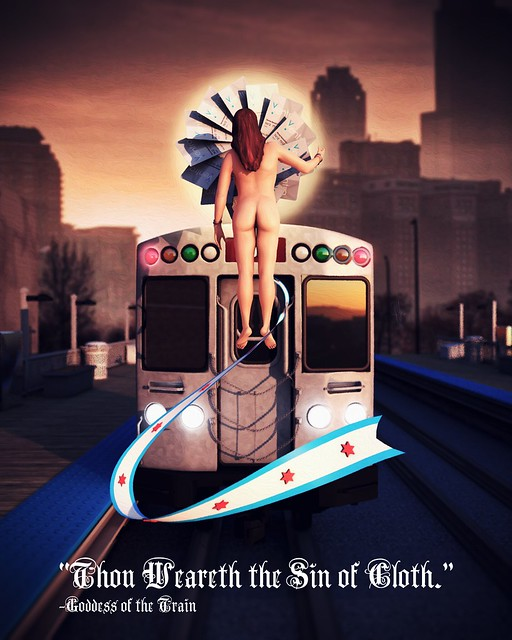 Goddess of the Train - JustinYounger
