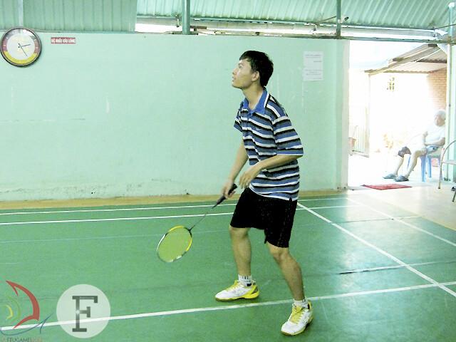 Trần Huy Thái – K49E - tay vợt sở hữu lối chơi thông minh