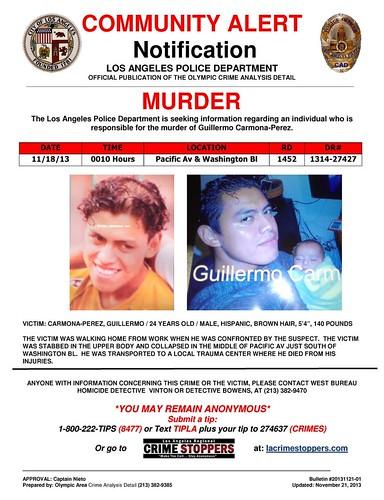 Guillermo Carmona-Perez Murder