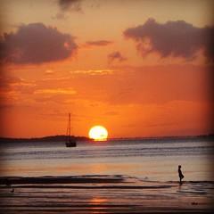 Sunset on Fraser Island #sunset #fraserisland #australia #oz #seeaustralia #exploringaustralia #beach #beautiful #nature #scenery #water #ocean #favouritephoto #photooftheday