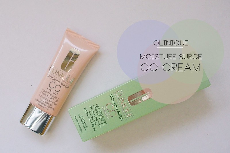 Clinique Moisture Surge CC Cream swatch