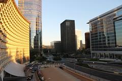 Hyatt Regency Century Plaza & Avenue of the Stars, Century City, Los Angeles, Califoria