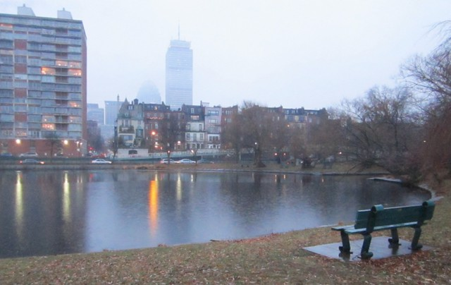 Dusk Before 4:00 on the Charles River