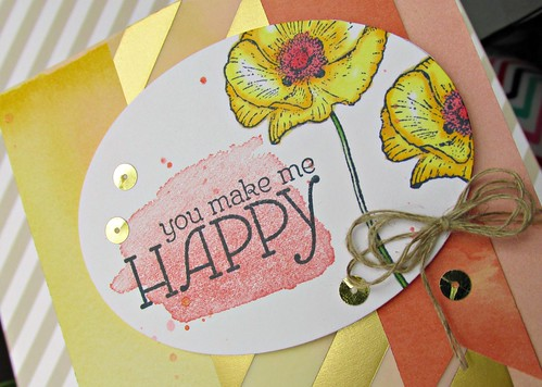 Happy Flowers Card 2