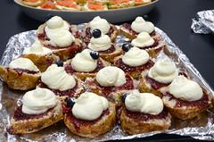 meal(0.0), belgian waffle(0.0), poffertjes(0.0), produce(0.0), breakfast(1.0), baking(1.0), baked goods(1.0), food(1.0), dish(1.0), dessert(1.0), cuisine(1.0), danish pastry(1.0),