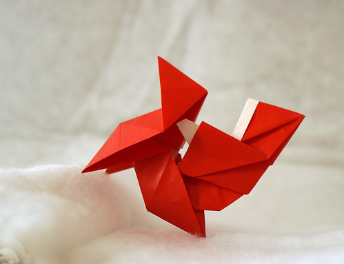 Origami Santa Claus en Pajarita (Luis Fernández Pérez)
