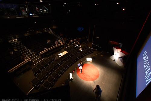 Rehearsal, Walk through & Soundcheck   TEDXSanDiego 2013