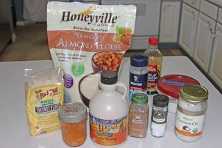 Paleo Vegan Pumpkin Cake Balls - Ingredients