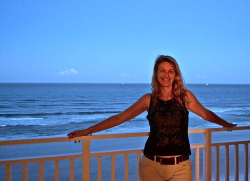 hotel in daytona beach - my personal balcony