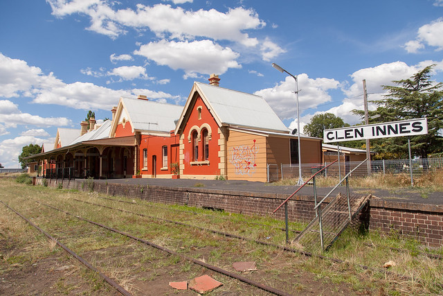 Glen Innes Railway Station