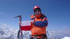 Ja na szczycie Island Peak 6189m