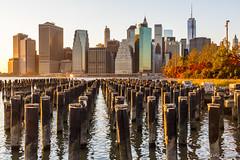 Golden Hour NYC Skyline