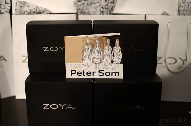 Zoya Peter Som AW 14 custom colors