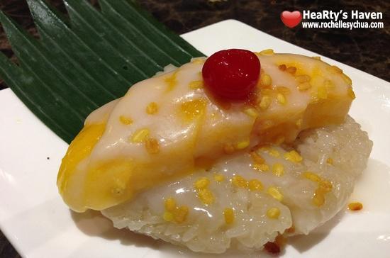 Tamarind Sticky Rice Mango