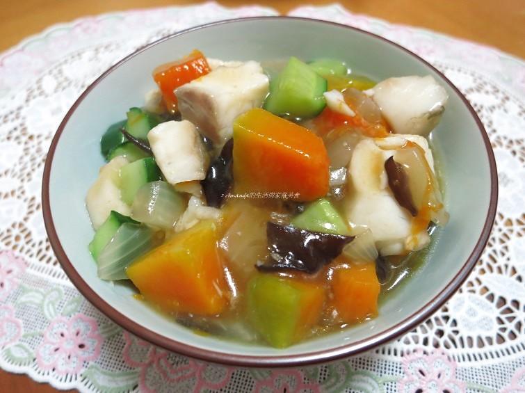 南瓜鯛魚粥,燴飯南瓜飯,魚,鮮魚,鯛魚 @Amanda生活美食料理