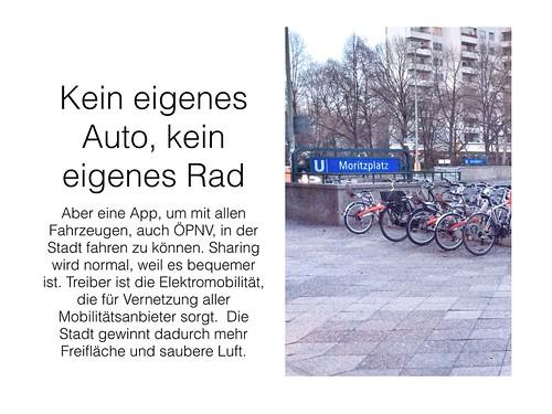Kein eigenes Rad und kein Auto - aber total mobil #sharing by Tanja FÖHR