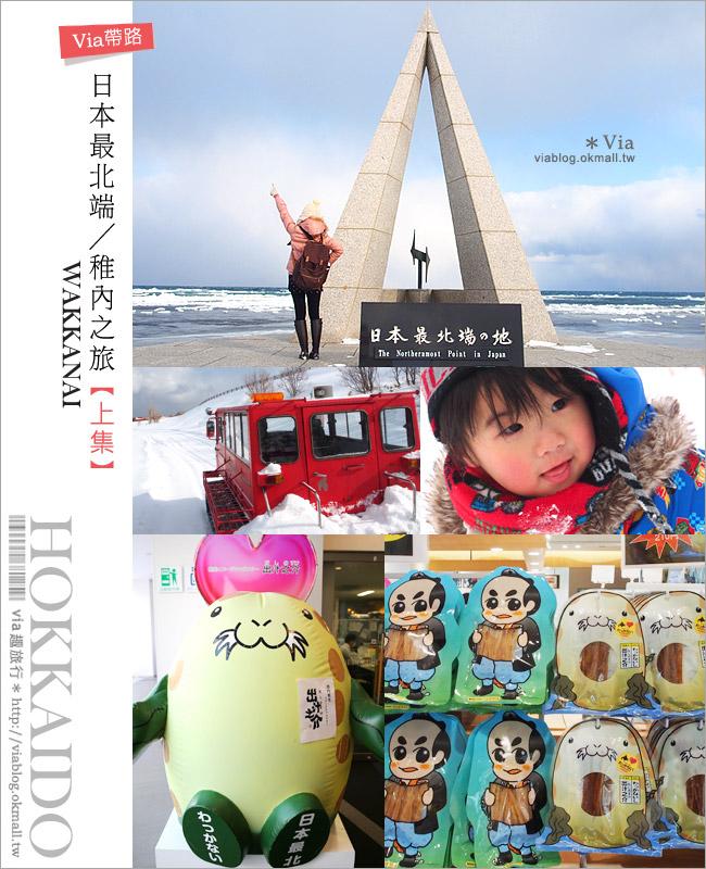 【稚內旅遊】日本最北端之旅(上)●最北稚內站必買、日本最北端打卡、雪上活動任你玩