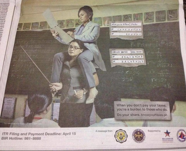 BIR Ad against Doctors