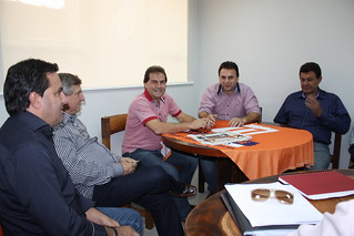 Prefeito debate projetos para a região de Ariranha com o deputado Paulinho da Força