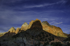 Mountain Light, Zion Canyon, UT