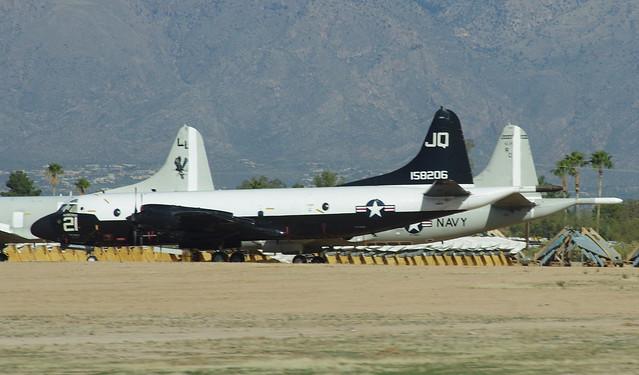 158206 Lockheed P-3C Orion VQ2 JQ21