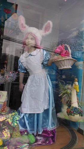 The Forget-Me-Not Factory's Store Window Display